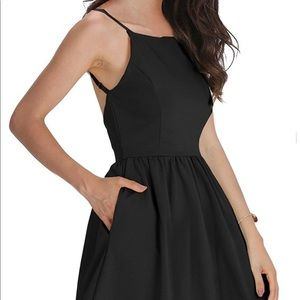 """Backless"" dress"